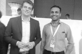India head of Google Agency program with Director Recherche Digital