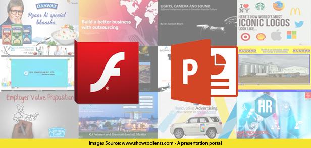 Difference between flash presentation & PowerPoint presentation